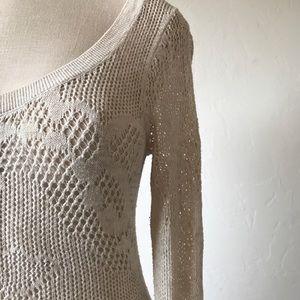 AMERICAN EAGLE Crochet Sweater Dress